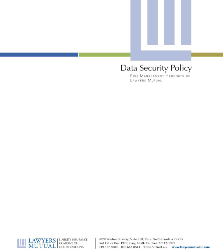 7 Security Policy Templates – It Security Policy Template