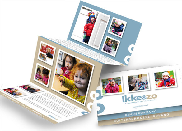 Daycare Center Brochure Template Download