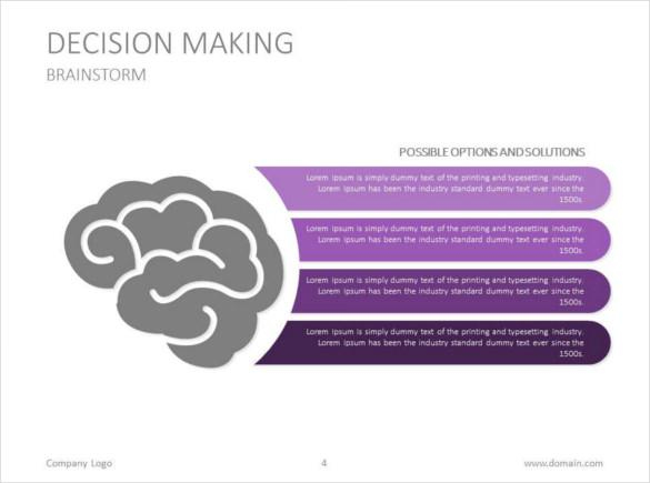 Decision Making Google Slides Template Download