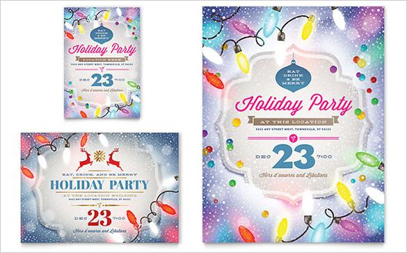 Holiday Party Flyer Templates Download Free Premium Templates