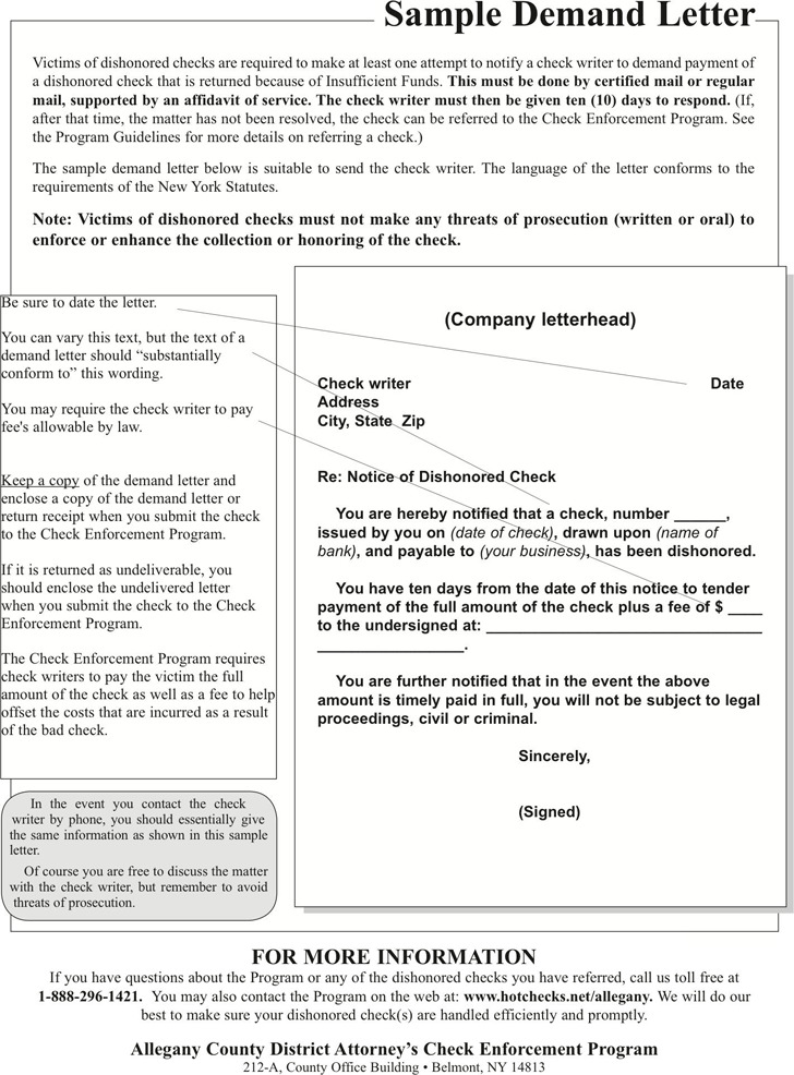 Demand Letter Sample | Download Free & Premium Templates, Forms
