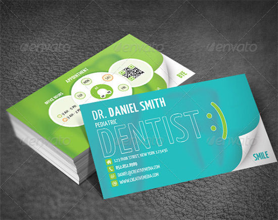 Dentist Business Card 1
