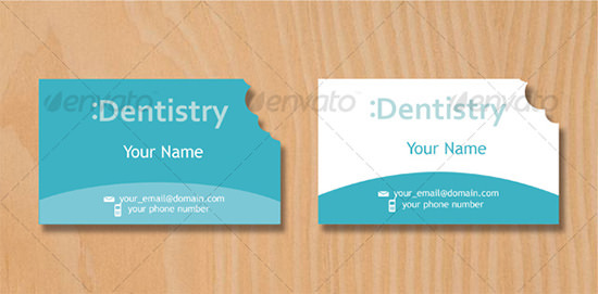 Dentist Business Card 3