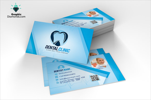 Dentist Business Card Template for Download