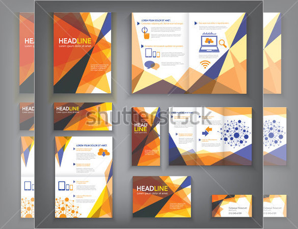 Design Abstract Brochure Template