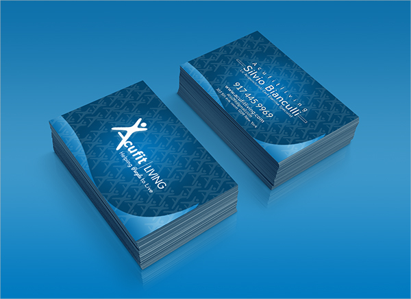 Designed Fitness Business Card