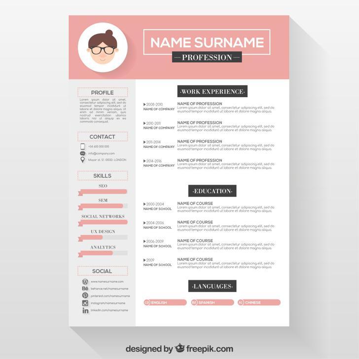 Designer Resume Photoshop Format Template Download