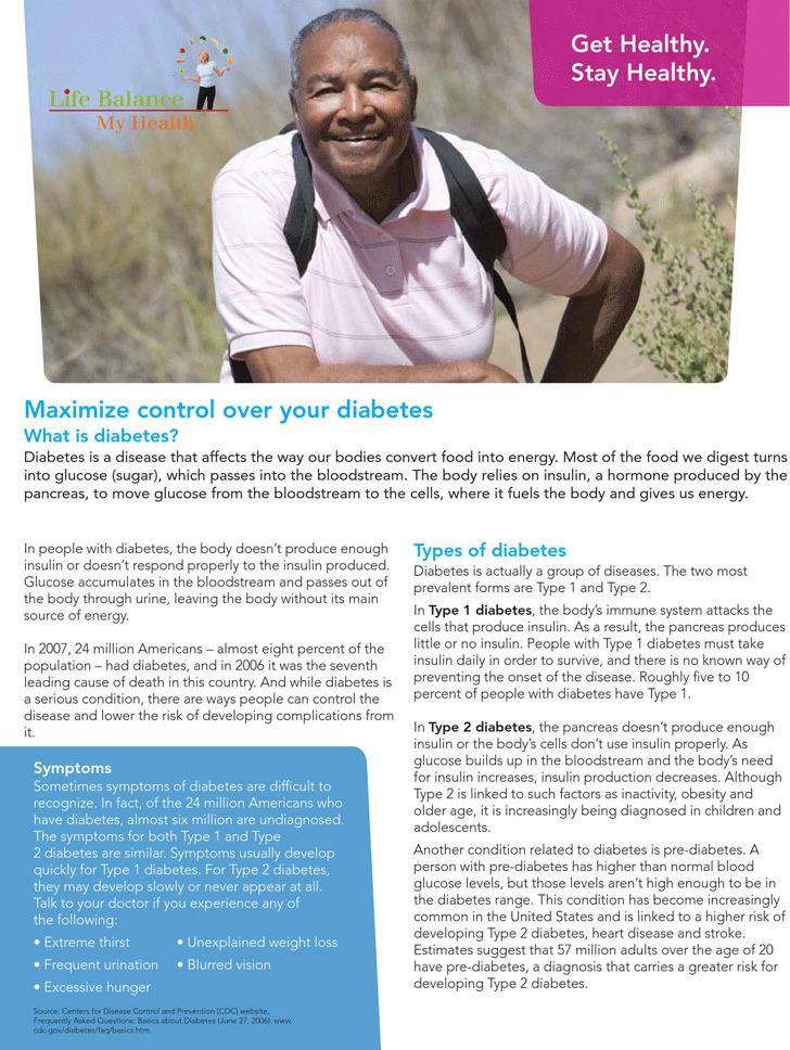 Diabetes Brochure 2