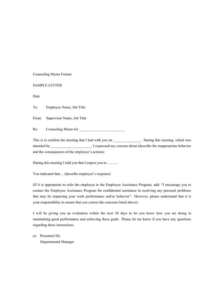 Disciplinary Memo Template  Pnp Pre Charge Evaluation And