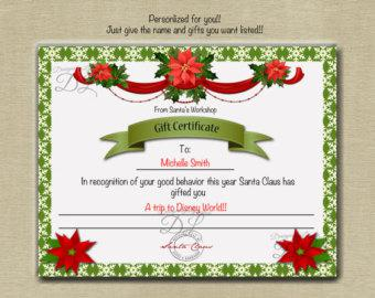 homemade christmas gift certificates templates - gift certificate template download free premium