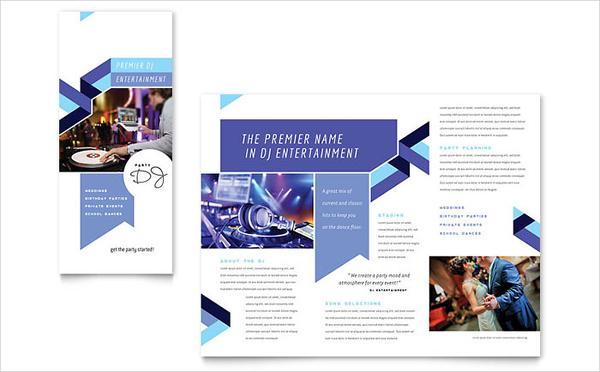 pop up brochure template - program brochures download free premium templates