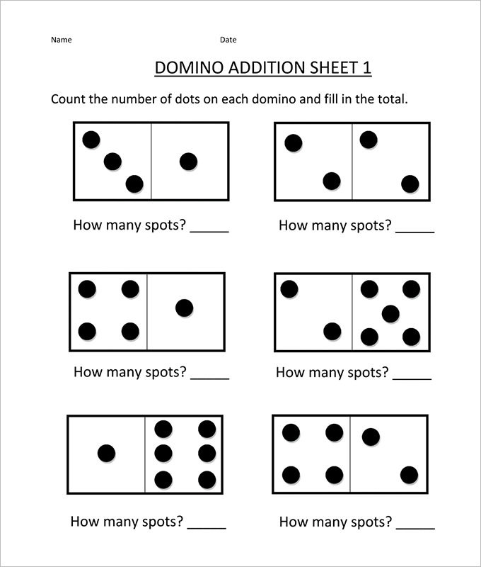 16  sample addition and subtraction worksheets free download