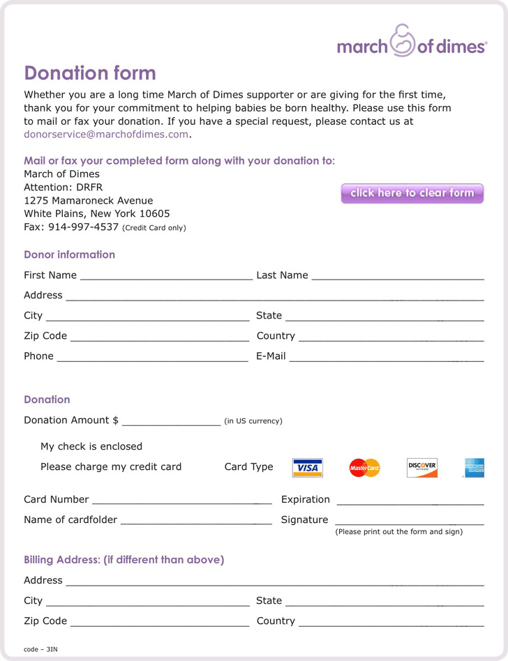 Donation Form – Donation Form