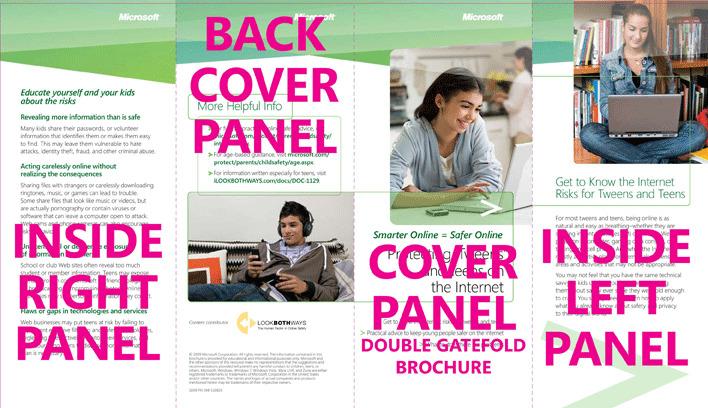 Double Gate Fold Brochure