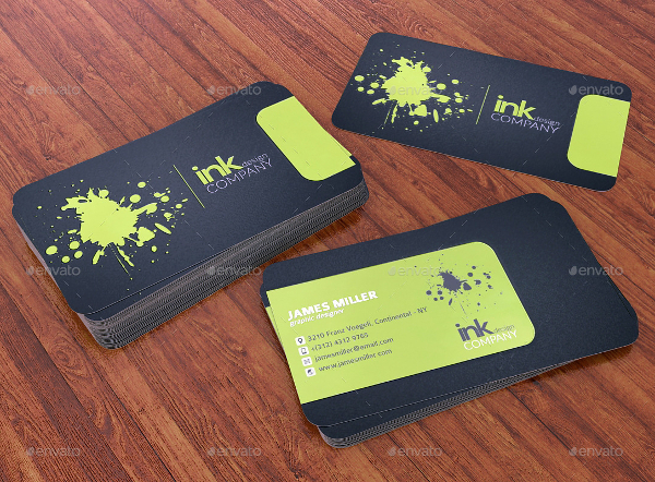 Double Sided Spot Uv Business Card