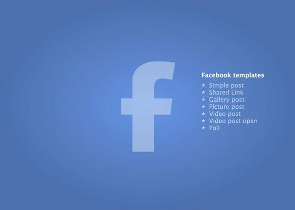 Download Best Facebook PowerPoint Presentation Template