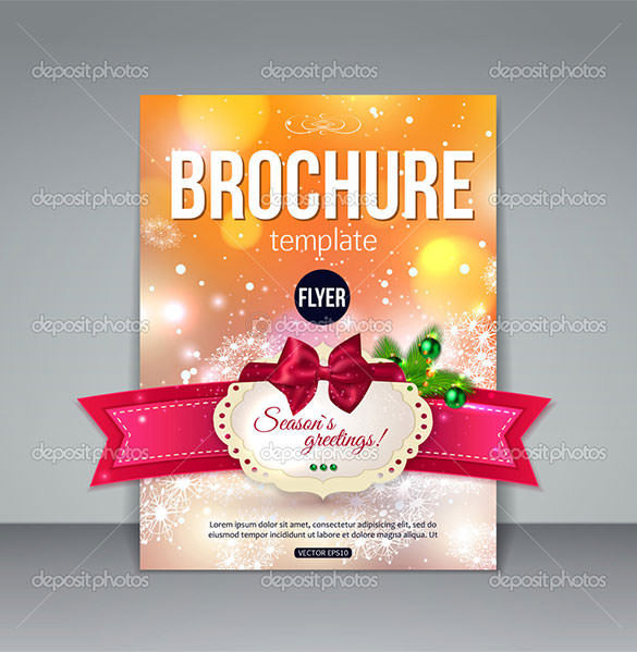 Download Christmas Brochure Template EPS Format