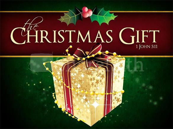 Download Christmas Gift Powerpoint Template PPT Format