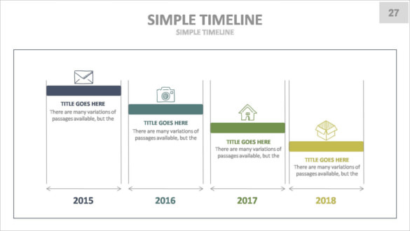 Keynote Timeline Templates | Download Free & Premium Templates
