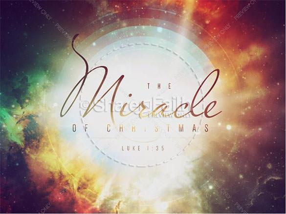Download Miracle of Christmas Ministry Powerpoint