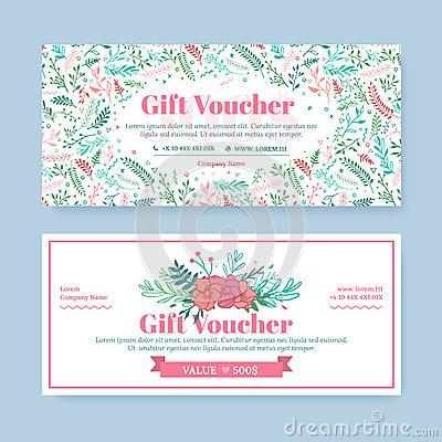 Download Salon Gift Certificate Business Card Template