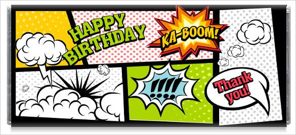 Download Superhero Candy Bar Wrappers Template