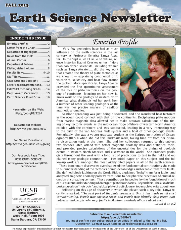 Science Newsletter Template Download Free Premium Templates