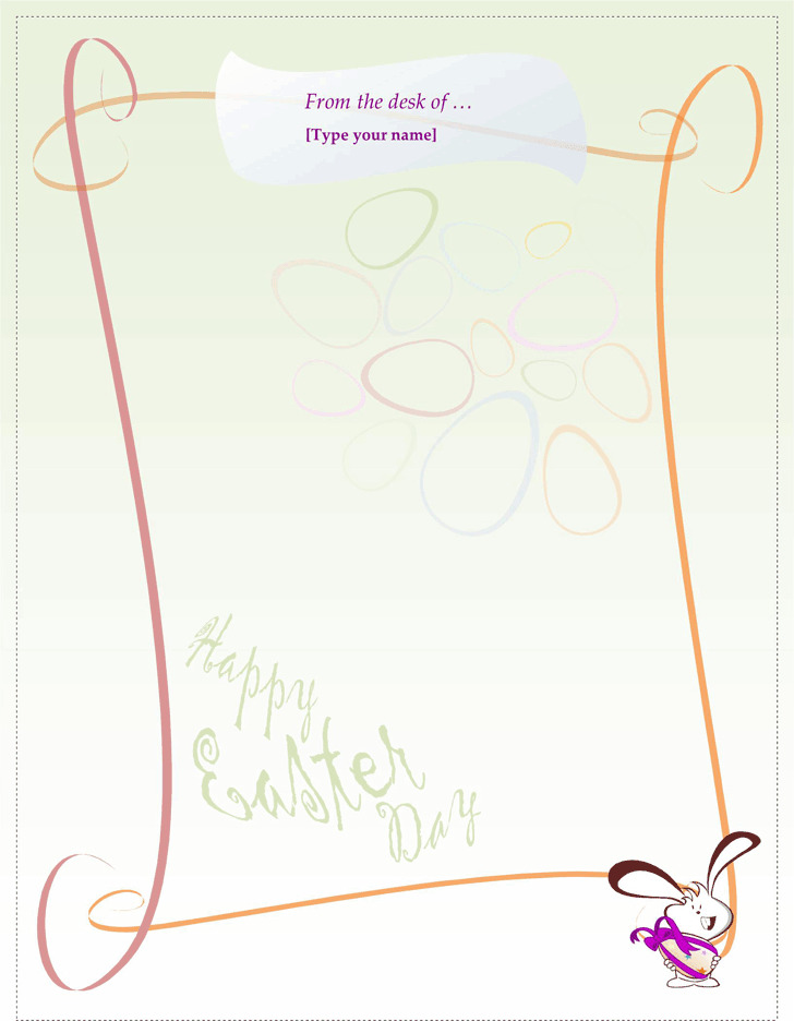 Easter Bunny Letter Template | Download Free & Premium Templates