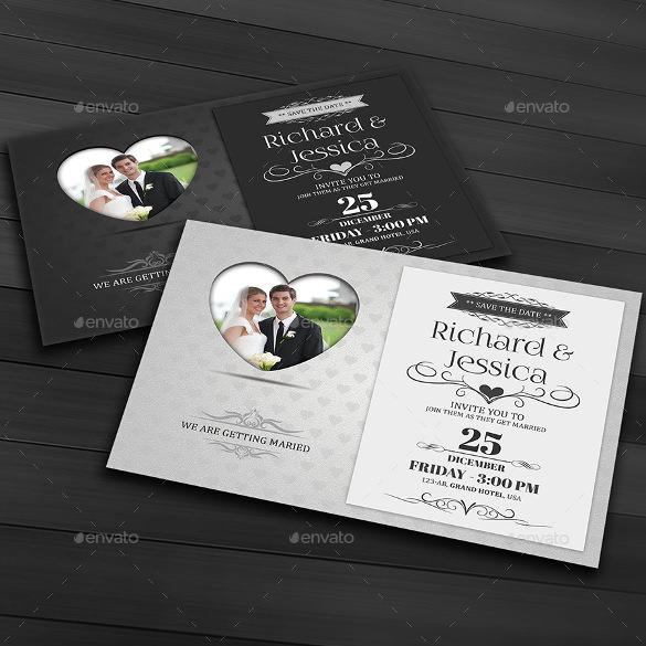 Easy To Edit Wedding Invitation Template For Download