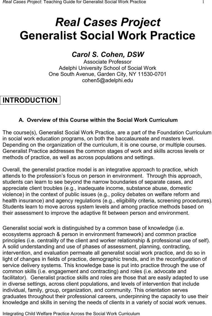 Ecomap Study Case Free PDF Template