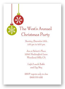 Editable Christmas Card Template for Invitation