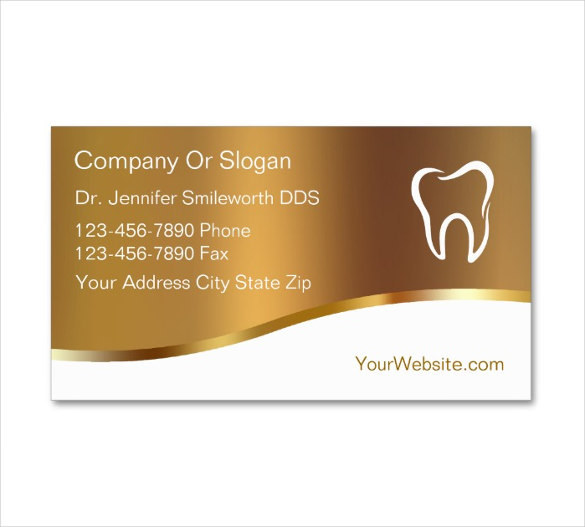 Dentist dental clinic business card template download for Business card template pdf