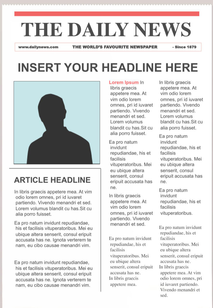 Newspaper Templates Download Free Amp Premium Templates