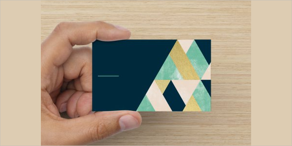 Editable Modern Business Card Template