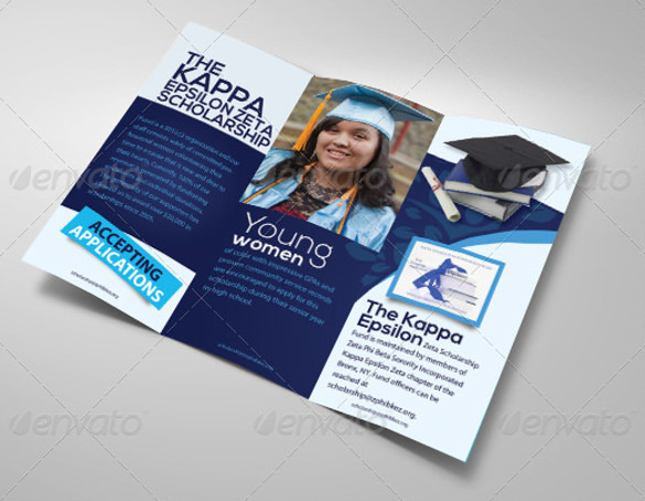 Educational Brochure Tri Fold Design