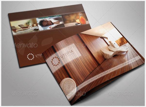 Elegant Bi-Fold Brochure Design