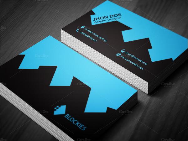 Elegant Brand Construction Business Card