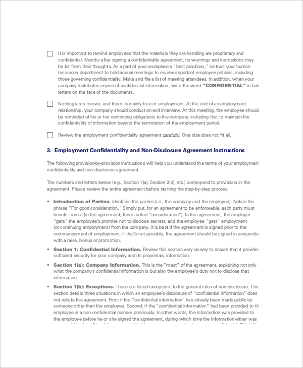 Non disclosure and confidentiality agreement templates for Non circumvention non disclosure agreement template