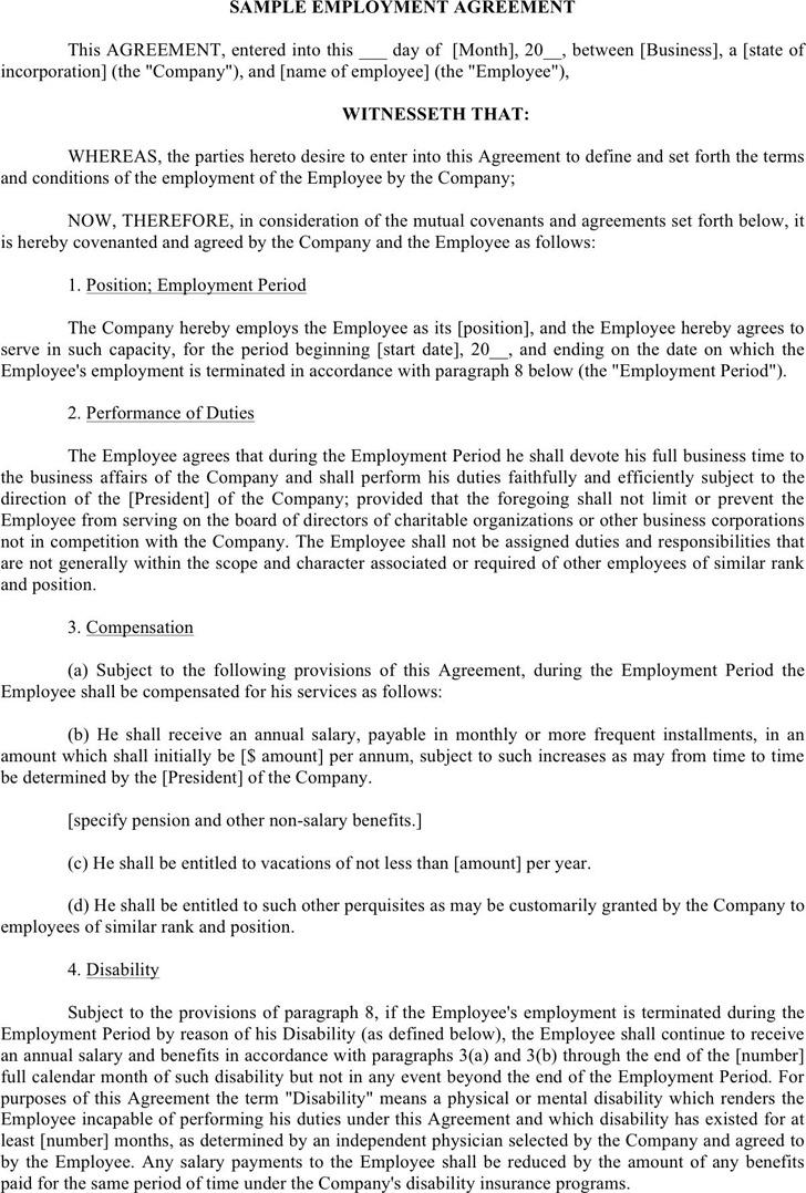 Employment Agreement 3
