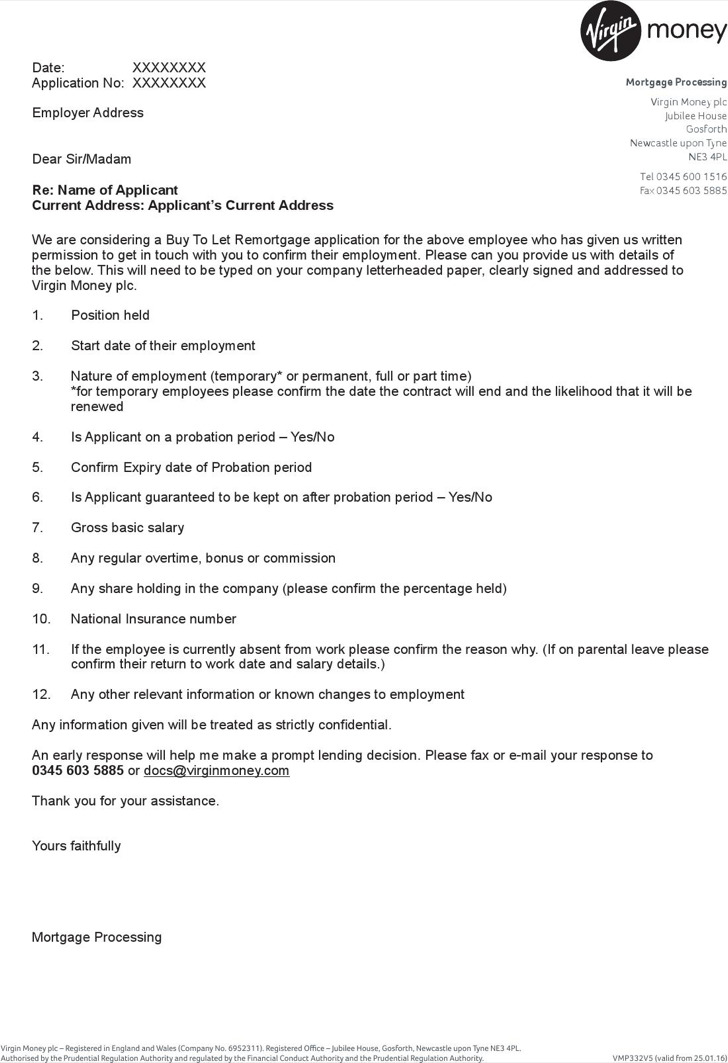 Employment Reference Letter Sample Request For Employment – Job Reference Letter Template
