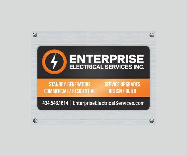 Enterprise Magnetic Design Business Card Template