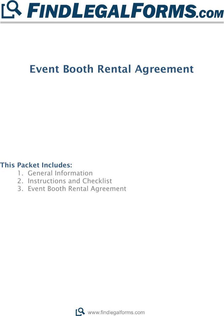 Rental Agreement Letter Templates – Booth Rental Agreement