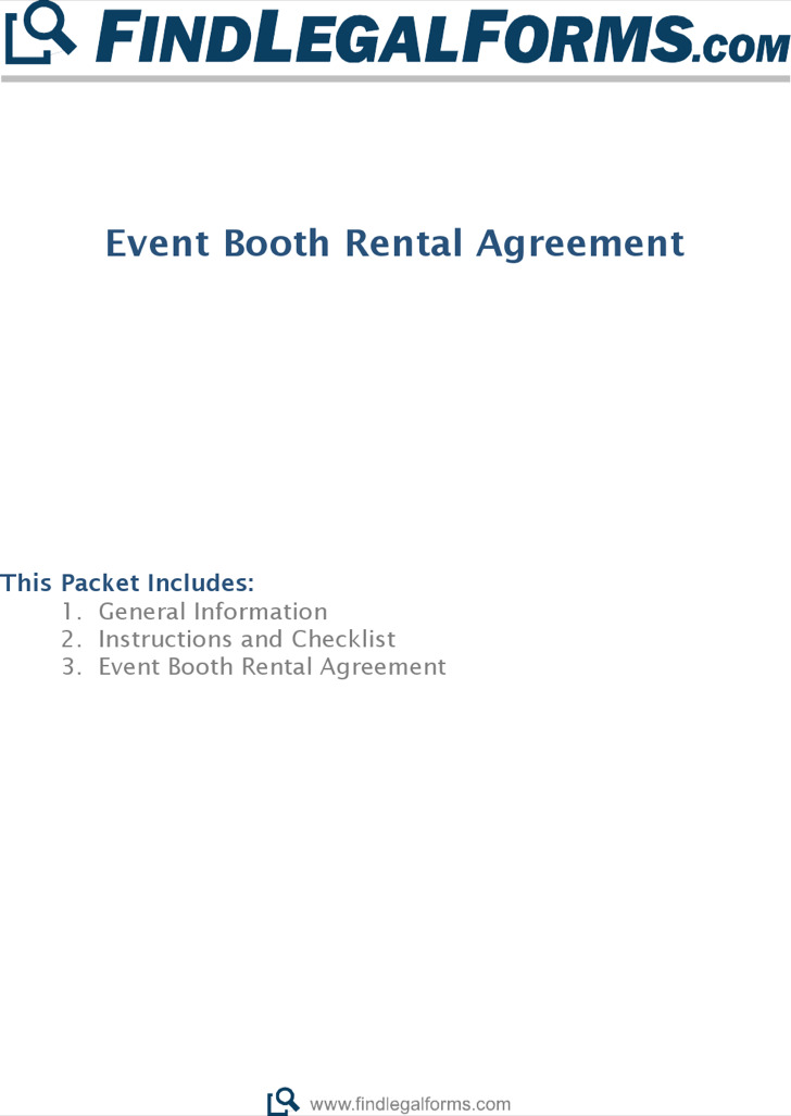 Event Booth Rental Agreement