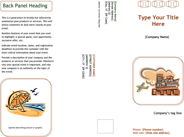 Event Marketing Brochure (Accessory Design)