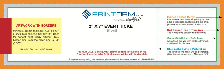 Event Ticket Template | Download Free & Premium Templates, Forms