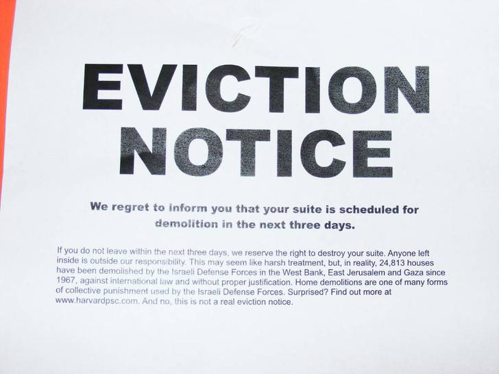 Eviction Notice in Texas