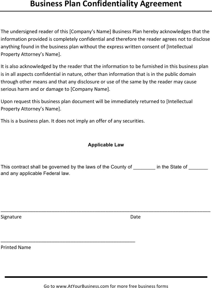 Client Confidentiality Agreement Templates  Download Free  Premium