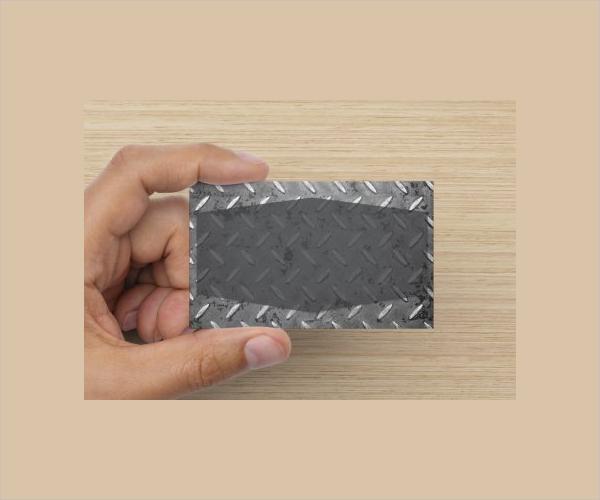 Example Editable Business Card Template