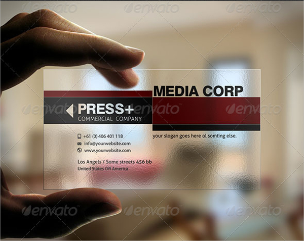 Example Elegant Business Card Template