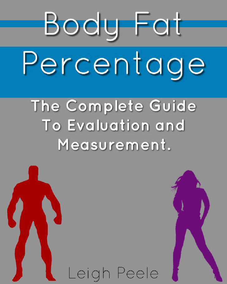 Example Female and Male Body Fat Percentage Levels Chart